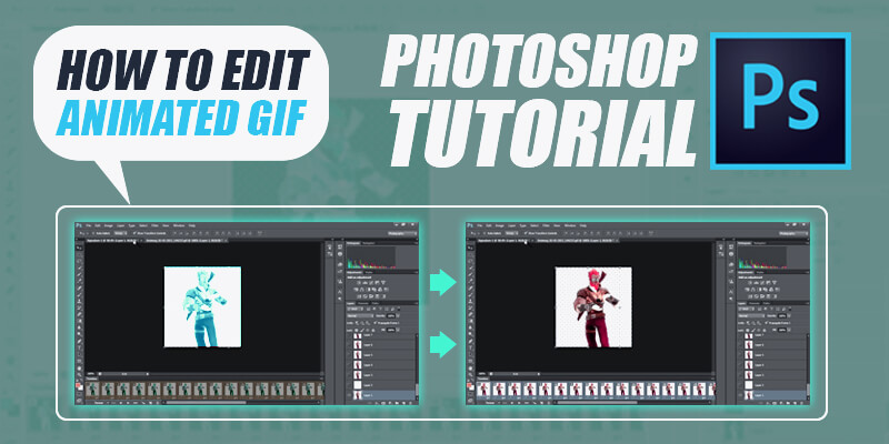 How to edit gifs in photoshop