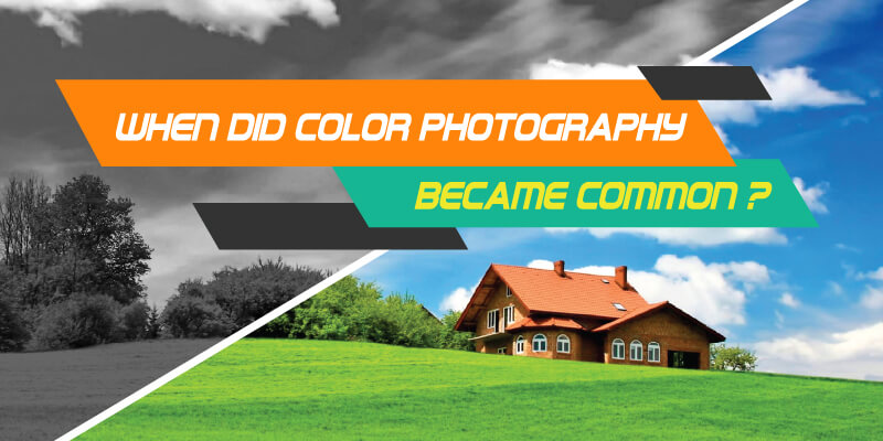 When Did Color Photography Became Common