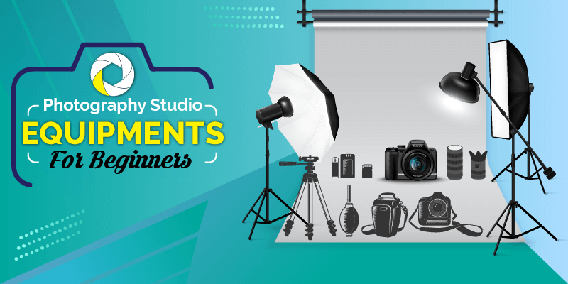 Professional Photography Studio Equipments for Beginners